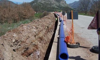Έργο ύδρευσης στο Μικρό Περιβολάκι