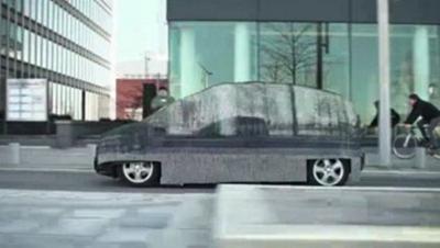 Αόρατο... το νέο F-Cell της Mercedes