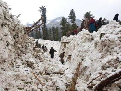 Φονική χιονοστιβάδα στο Αφγανιστάν