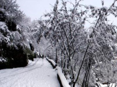 Χιονοπτώσεις στα ορεινά της Καρδίτσας