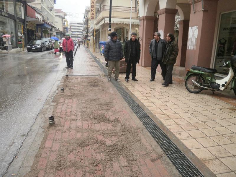 Σε εξέλιξη έργα συντήρησης των ποδηλατοδρόμων στην Καρδίτσα