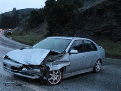 Καλαμπάκα - Σφοδρή σύγκρουση οχημάτων στην είσοδο της πόλης