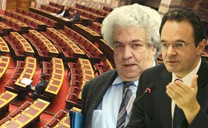 Ωμή παρέμβαση για το έλλειμμα καταγγέλλει ο Μ.Κοντοπυράκης - Σφοδρή αντίδραση Παπακωνσταντίνου