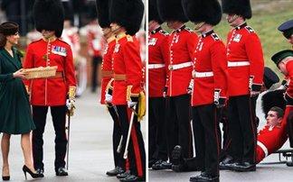 Λιποθύμησε στρατιώτης μπροστά στην Middleton