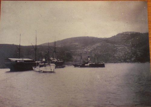 Γρηγόρης Καρταπάνης:  Φουρτούνες και ναυάγια στα 1904 - 1905