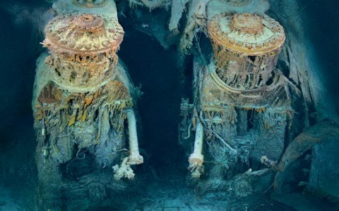 Ο Τιτανικός 100 χρόνια μετά το ναυάγιο