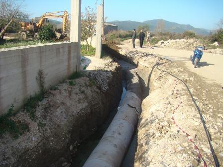 Στο  ΕΠΠΕΡΑΑ  η κατασκευή αποχετευτικού δικτύου σε Άγιο Γεώργιο, Ριζόμυλο, Στεφανοβίκειο