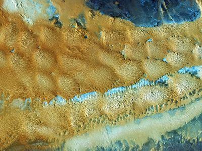 Δορυφορική εικόνα από την αφυδατωμένη Δυτική Σαχάρα