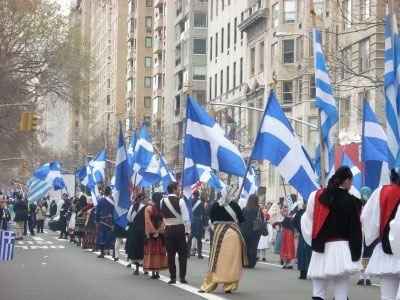 Παρέλαση στη Νέα Υόρκη για την 25η Μαρτίου