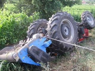 Φθιώτιδα: Τραγικός θάνατος κάτω από το τρακτέρ