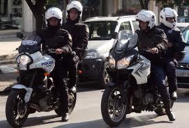 Τροχαίο με αστυνομικούς της ομάδας ΔΙΑΣ Λάρισας