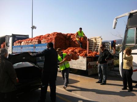 Νέα διανομή φορτίων πατάτας