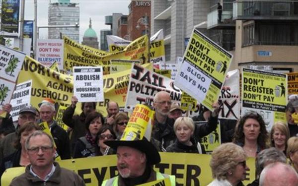 Χαμός στην Ιρλανδία με το χαράτσι στα ακίνητα