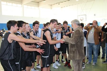 Πρωταθλήτρια η Ακαδημία Γ.Σ. Βόλου