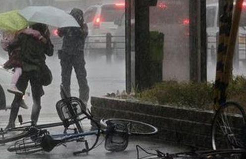 Φονική καταιγίδα στην Ιαπωνία