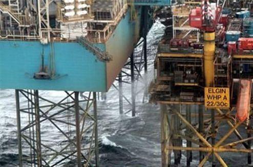 Στη δημοσιότητα πλάνα από τη διαρροή αερίου σε εξέδρα της Total