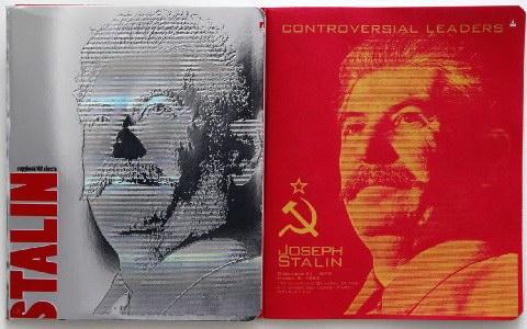 «Θύελλα» για τα εξώφυλλα τετραδίων με τον Στάλιν