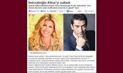 Πρωτοσέλιδο στην Τουρκία ο «έρωτας» της Έλενας Ράπτη με τον Ezel