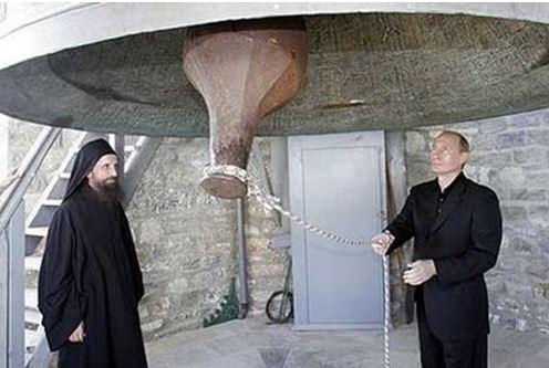 Δεν είναι ευπρόσδεκτος ο Πούτιν στο Άγιο Όρος