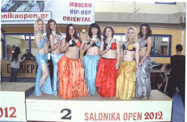 Χορευτικές διακρίσεις απέσπασαν Βολιώτες στη διεθνή διοργάνωση Salonica Open