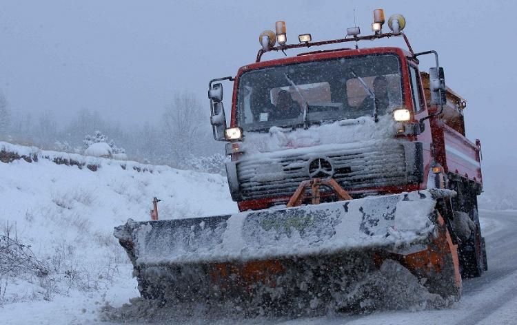 Χιονόπτωση στα ορεινά των Τρικάλων