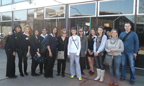 Το Γυμνάσιο Ευξεινούπολης στη Μ. Βρετανία