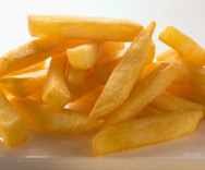 Υγιης τροπος για να τρωτε Τηγανητές πατάτες
