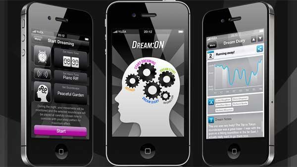 Εφαρμογή στο κινητό για καλύτερα όνειρα