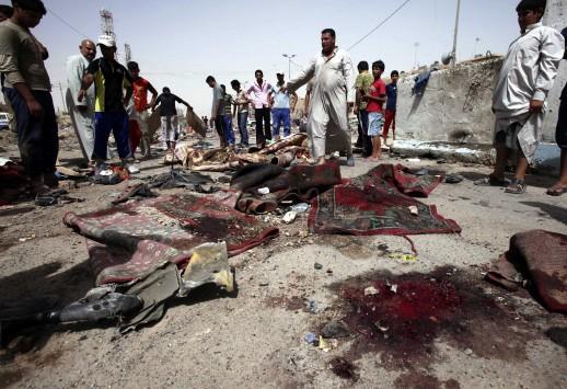 Καμικάζι αυτοκτονίας σκόρπισε το θάνατο στο Ιράκ