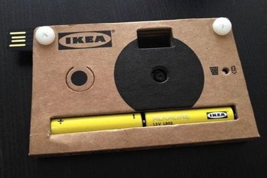 Η χάρτινη φωτογραφική μηχανή της… IKEA