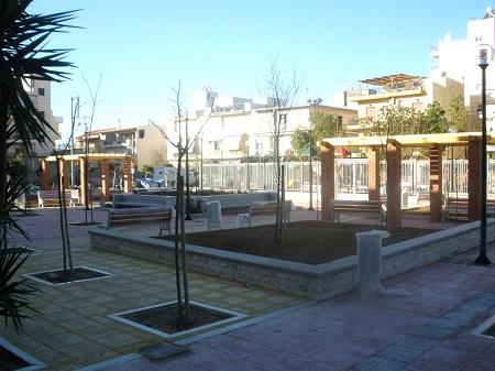 Ξεκινά η νέα πλατεία στη Ν. Ιωνία