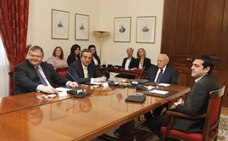 Ολοκληρώθηκαν οι πρώτες κρίσιμες συνομιλίες στο Προεδρικό Μέγαρο