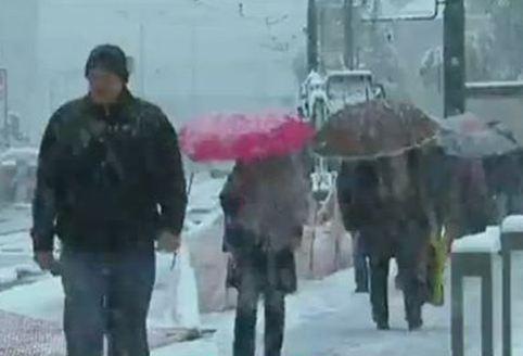 Χιόνι «σκέπασε» το Σεράγεβο μετά από 50 χρόνια!