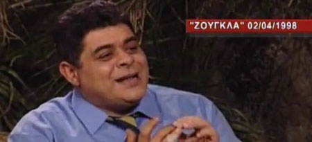 Όταν ο Μιχαλολιάκος πέταξε on air... καρύδα στον σκηνοθέτη Κολλάτο [βίντεο]