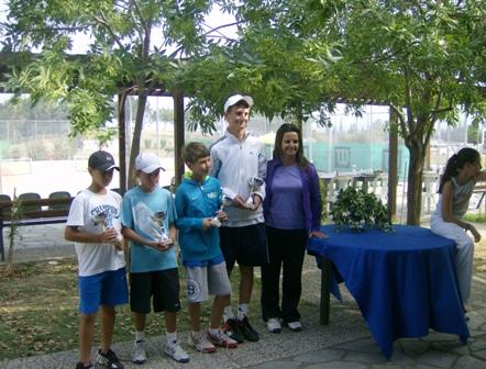 Επιτυχία στο 4ο πανελλαδικό πρωτάθλημα τένις