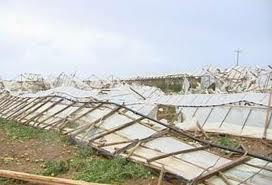 Αχαΐα: Ανεμοστρόβιλος προκάλεσε σοβαρές ζημιές