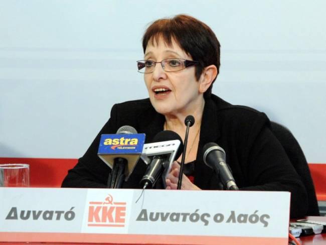 Α. Παπαρήγα: Ο ΣΥΡΙΖΑ εξαπατά τον λαό