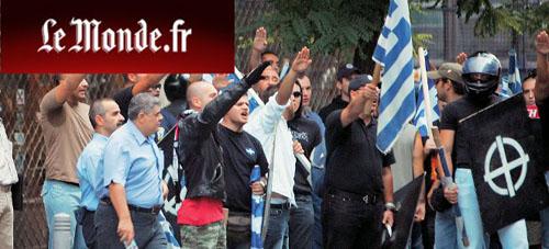 Le Monde: Η Χρυσή Αυγή συνεργάζεται με την αστυνομία;