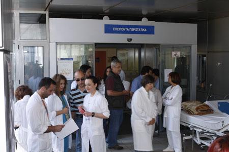 Μπαράζ συνταξιοδοτήσεων στο Νοσοκομείο