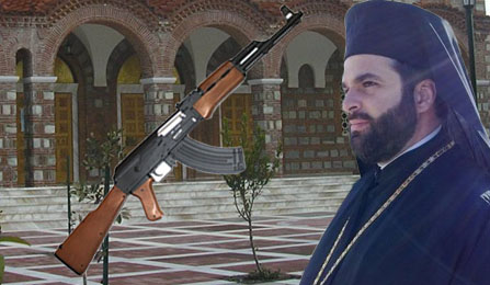 Πυροβολήθηκε με καλάσνικοφ Αλμυριώτης ιερέας