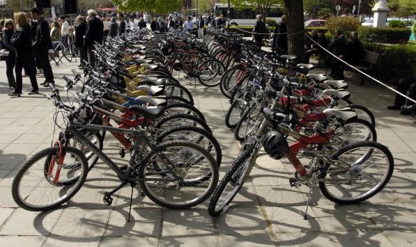 Τρίκαλα: Χάρισε... ποδήλατα το Πανεπιστήμιο Θεσσαλίας