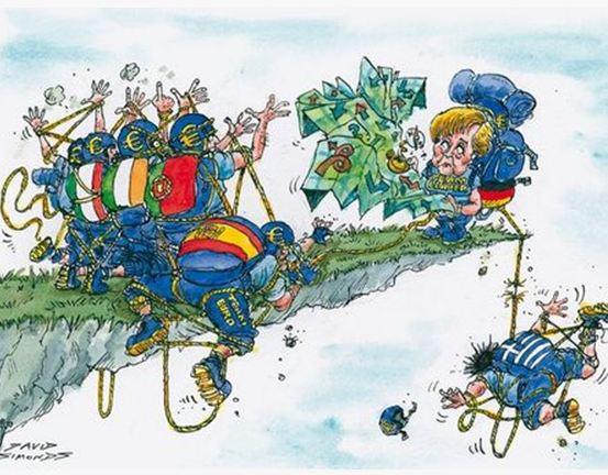 """""""Αν η Ελλάδα πέσει θα παρασύρει και την ευημερία της Γερμανίας"""""""