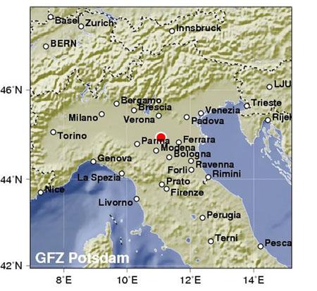 Νέος ισχυρός σεισμός με δεκαπέντε νεκρούς στη Β. Ιταλία