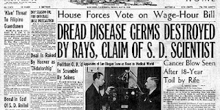 Είχαν θεραπεύσει τον καρκίνο από το 1934;