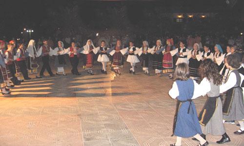 Συνάντηση Παιδικών Χορευτικών από το Χορευτικό Όμιλο Αλμυρού
