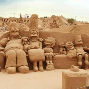 Απίστευτα γλυπτά από... άμμο στο περίφημο φεστιβάλ Fiesa