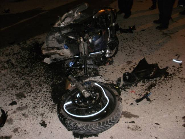 Τραγικός θάνατος μοτοσικλετιστή στη Θεσσαλονίκη