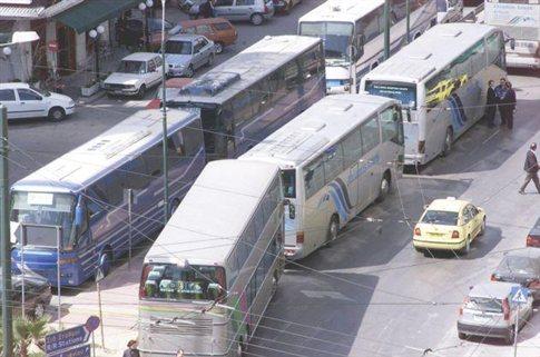 Σε τετραήμερη απεργία από τη Δευτέρα οι οδηγοί τουριστικών λεωφορείων