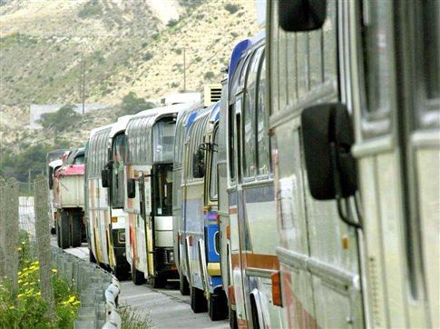 Παράνομη κρίθηκε η τετραήμερη απεργία των οδηγών τουριστικών λεωφορείων