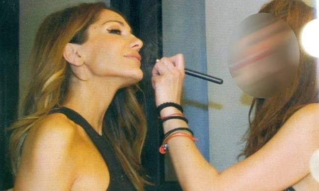 Ποια ηθοποιός βάφει την Δέσποινα Βανδή;
